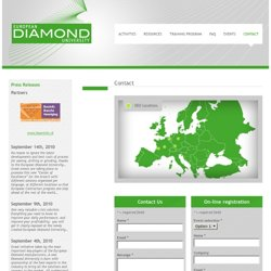 Contact – European Diamond University