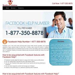 Facebook Contact Helpline Number 1-877-788-9452