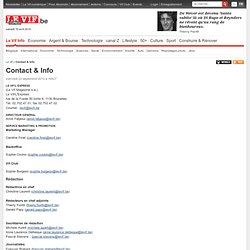 Contact & Info - Le Vif -