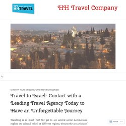Connect with Israel guide and travel agency