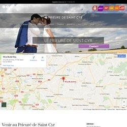 Contact Mariage : Contactez le Prieuré de Saint-Cyr pour votre mariage