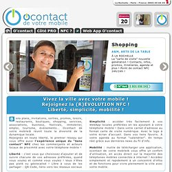 O'contact - Web Mobile et NFC Near Field Communication