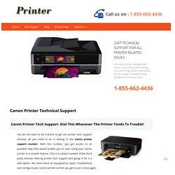 Canon Printer Technical Support Toll Free @1-855-662-4436 USA,Canada