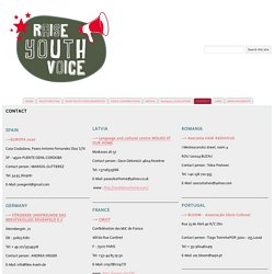 CONTACT - Raise Youth Voice