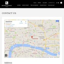 Contact us - Bespoke Bureau