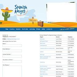 Contact Us - Spanish Amigos