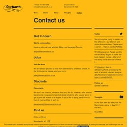 Contact Us - this is True North