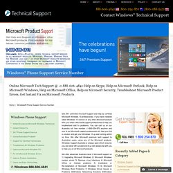 888-606-4841-Contact Windows Technical Support