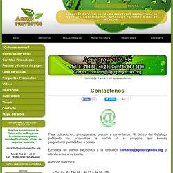 Agroproyectos: Proyectos Productivos, Corridas Financieras, Planes de Negocios