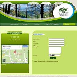 Contacter le Lycée forestier Meymac - Lycée de l'environnement, des métiers de la nature et des milieux rureaux - P l'EPLEFPA de Neuvic et Lycée forestier de Meymac