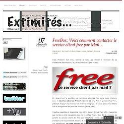 FreeBox: Voici comment contacter le service client free par Mail…