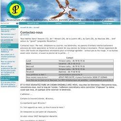 Contactez-nous - [atout-précocité.fr]