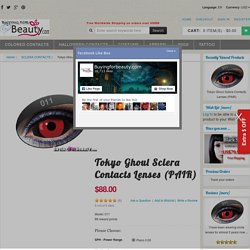 Tokyo Ghoul Sclera Contacts Lenses (PAIR) Tokyo Ghoul Sclera Contacts Lenses [011] - $88.00 : Halloween Colored Contacts, Dress,Lingerie,Colored Contacts,Coloured Contacts,Halloween Contacts,Costume,Wigs,Cosplay