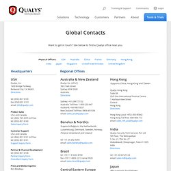 Contacts - Qualys, Inc.