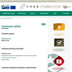 Contacts utiles – Europe Guyane