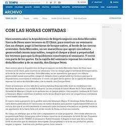 CON LAS HORAS CONTADAS