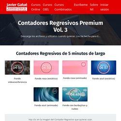 Contadores Regresivos Premium vol. 3