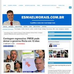 Contagem regressiva: PMDB pode deixar o governo Richa em 10 dias