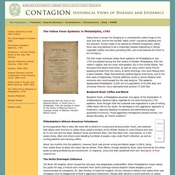Contagion, The Yellow Fever Epidemic in Philadelphia, 1793