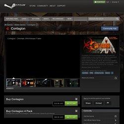 Économisez 50% sur Contagion sur Steam