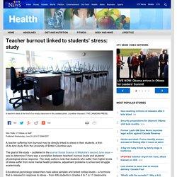 'Stress contagion': How teacher burnout can affect your children