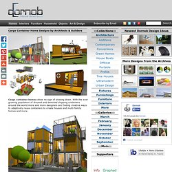 Cargo Container Home Designs by Architects & Builders