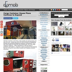 Cargo Container House Plans Continue to Expand
