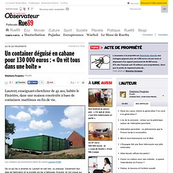 Autoconstruction habitat pearltrees for Maison container finistere
