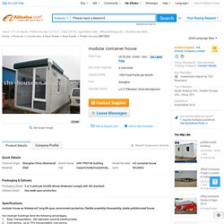 Modular Container House - Buy Modular House,Prefabricated Building,Mobile House Product on Alibaba