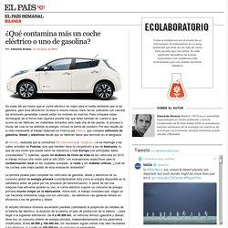 ¿Qué contamina más un coche eléctrico o uno de gasolina? >> Ecolaboratorio