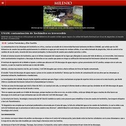 UNAM: contaminación de Xochimilco es irreversible - Grupo Milenio