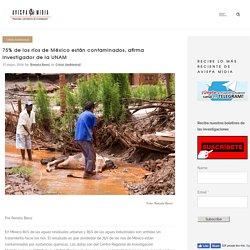 75% de los ríos de México están contaminados, afirma investigador de la UNAM - Avispa Midia