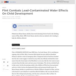 Flint Combats Lead-Contaminated Water Effects On Child Development