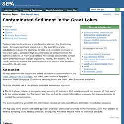 EPA 28/09/16 Contaminated Sediment in the Great Lakes
