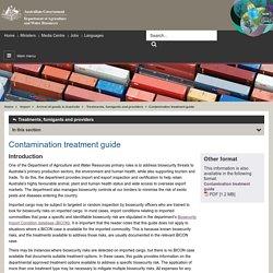 DAFF_GOV_AU 13/12/13 Contamination treatment guide