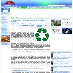 la contamination des denrées alimentaires par les huiles minérales