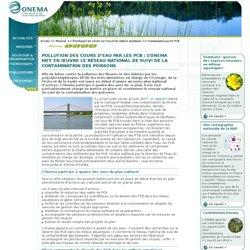 Contamination par les PCB > Développer les savoirs sur l'eau et les milieux aquatiques