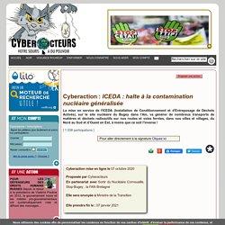 ICEDA : halte à la contamination nucléaire généralisée cyberaction