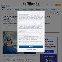 Covid-19 en France: bond des contaminations mais baisse des admissions en réa