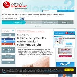 POURQUOI DOCTEUR 05/01/17 Etude Alsa(ce)tique - Maladie de Lyme : les contaminations culminent en juin