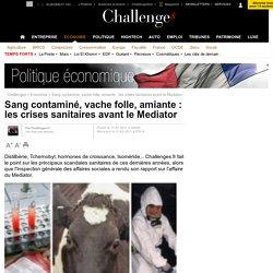 Sang contaminé, vache folle, amiante : les crises sanitaires avant le Mediator - 11 février 2011