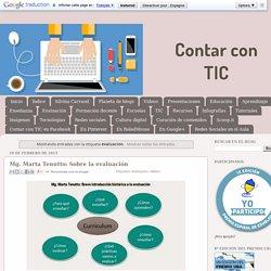 Contar con TIC: evaluacion