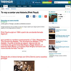 Te voy a contar una historia (Pink Floyd)