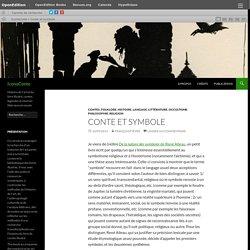 Conte et symbole