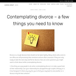 Contemplating Divorce: Do This Things Before Proceeding