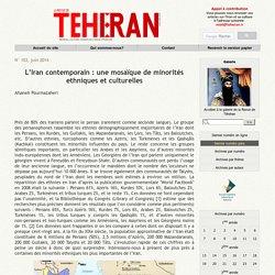 L'Iran contemporain : une mosaïque de minorités ethniques et culturelles
