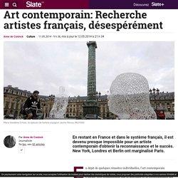 Art contemporain: Recherche artistes français, désespérément