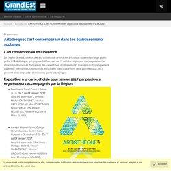 [Région Grand Est] - Artothèque : l'art contemporain dans les établissements scolaires