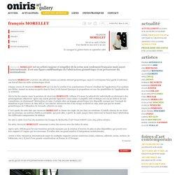 Oniris » galerie d'art contemporain a Rennes » françois MORELLET