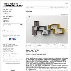 Kasimir Malévitch - Artistes Art Contemporain - CRAC OCCITANIE à Sète - Centre Régional d'Art Contemporain OCCITANIE / Pyrénées-Méditerranée
